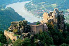 Ruine Aggstein in der Wachau, Niederösterreich, Austria