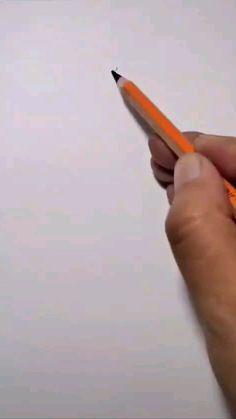 Art Drawings For Kids, Art Drawings Sketches Simple, Pencil Art Drawings, Drawing Journal, Sketching, Diy Canvas Art, Art Techniques, Art Tutorials, Art Lessons