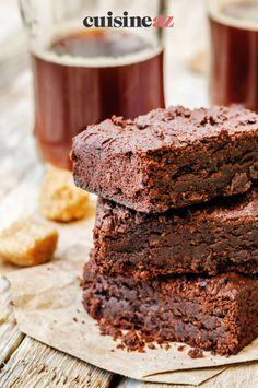 Une recette de brownies au chocolat qui seront prêts en 30 minutes. #recette#cuisine#brownie #chocolat #gateau#patisserie Sugar Cake, Chocolate Fondue, Sweet Recipes, Gentleness