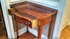 Federal Entry Table - Reader's Gallery - Fine Woodworking