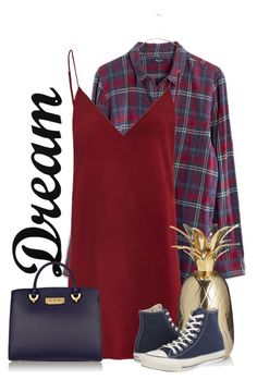 """dream"" by kennedy45 on Polyvore featuring Madewell, Dot & Bo, Converse and ZAC Zac Posen"
