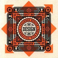 FFFFOUND! | Designspiration — Facebook Design Coasters | The Graphic Works of Ben Barry