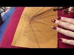 01 Bobbin Lace Leaves Shawl Home – Raquel M Adsuar Bolillotuber Hairpin Lace Crochet, Bobbin Lace Patterns, Lace Heart, Lace Outfit, Lace Jewelry, Needle Lace, Lace Detail, Shawl, Blog