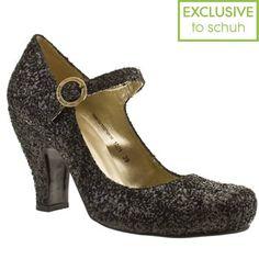 Glitter wedding shoe inspiration, Red or Dead, via Aphrodite's Wedding Blog