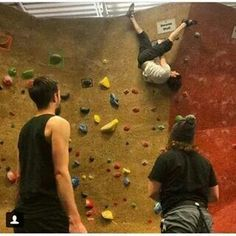 Dan , what are you doing? <-- Do I PIN THIS TO CLIMBING BOARD OR BASTILLE BOARD