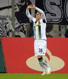 Thorgan Hazard maakte zijn eerste doelpunt in de Bundesliga.