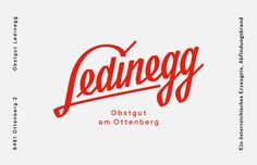 Ledinegg • Bruch—Idee & Form
