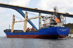 19 maart 2015 vertrek uit Willemstad, Curaçao na een dokbeurt en survey  http://koopvaardij.blogspot.nl/2015/03/thuishaven-groningen_20.html