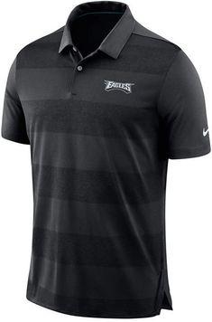 1763bfa52 Nike Men s Philadelphia Eagles Early Season Polo - Black S
