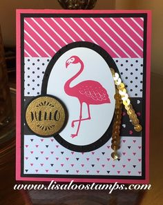 Pop of Paradise New suite from Stampin' Up!