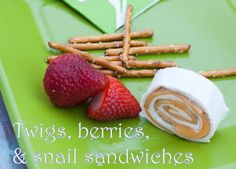 Pixie snacks! Plus a bunch of other pixie party ideas!