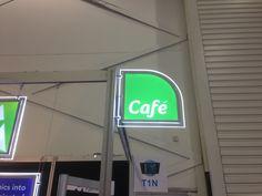 LED cafe sign
