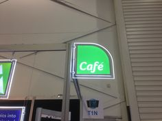 LED cafe sign