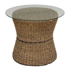 @Overstock - This Home Styles Cabana Banana Round Drum Table with Glass Top is made of all natural woven banana leaves in a Honey finish. This eco-friendly collection features frames that are made of sustainable natural materials.http://www.overstock.com/Home-Garden/Cabana-Banana-Honey-Drum-Table/6715388/product.html?CID=214117 $210.99