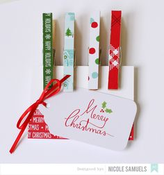 Magnet Clothespins American Crafts | Nicole Samuels