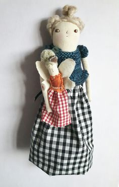 Nettie - an art doll / Melodie Stacey