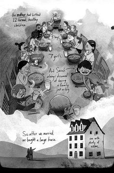 Sarah and the Seed, Ryan Andrews / muy bonito comic con un final único