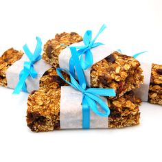 """These Pumpkin Cranberry Chocolate Chip Granola Bars make a great portable snack or breakfast on the go.I know what you are thinking, """"why in the world is she making pumpkin treats at the end…"""