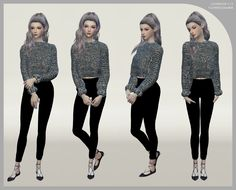 "LOOKBOOK V.15 | Elegant, Leisure Notes: • 12 poses + 1 all in one • CAS: • Loner trait • IN-GAME: • Andrew Pose Player must have • Click pics for HQ So, here is the DOWNLOAD:""simfileshare dropbox "" CC..."