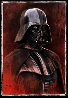 Darth Vader /by Tariq #StarWars #art