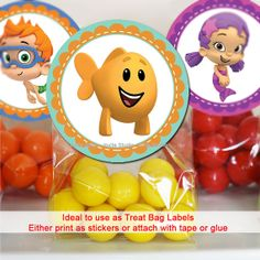 Bubble Guppies Printable Cupcake Toppers 2 by invitestudioshoppe, $2.95