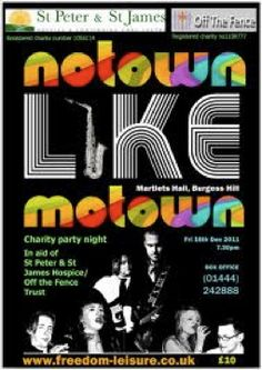 Motown invitation concepts