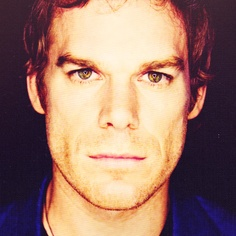 Damn those strong facial features! Michael C. Hall - Dexter