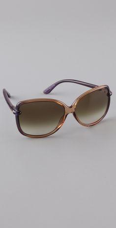 Tom Ford Eyewear Callae Sunglasses thestylecure.com