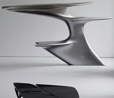 Zaha-Hadid form-in-motion is a perfect environment based geometry