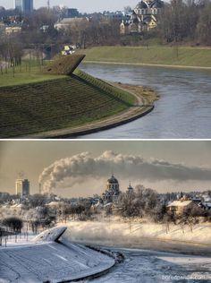 22 eszméletlen fotó amely megmutatja, hogyan változik meg a Föld, amikor beköszönt a tél | latnodkell