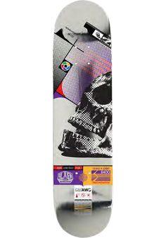 Alien-Workshop Sectachrome-Skull - titus-shop.com  #Deck #Skateboard #titus #titusskateshop