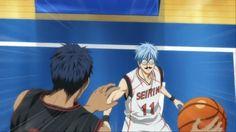 Kuroko no basket | aomine daiki | kuroko tetsuya