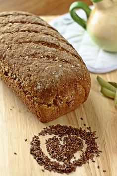 Delicious, healthy bread that is packed with seeds and grains. A great bread for fasting and dieting. Recipe inside