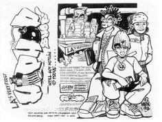 Hex - Hip Hop Shop Flyer