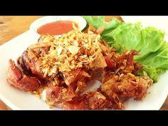 thai food recipe : Fried Soft Shell Crab