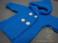 Пошаговый мастер-класс вязания спицами детского вязаного пальто с множеством фотографий для начинающих