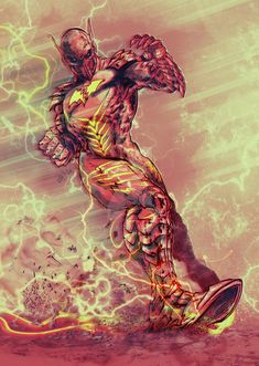 The Red Death by SaintYak on DeviantArt Arte Dc Comics, Flash Comics, Comic Book Characters, Comic Character, Comic Books Art, Batman Dark, Batman Metal, Dark Knights Metal, Univers Dc