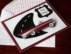 Fifties Car Birthday Card