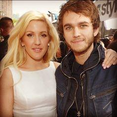 Ellie Goulding and zedd