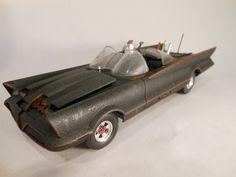 Classicwrecks Rusted Scale Model Batmobile Car by classicwrecks
