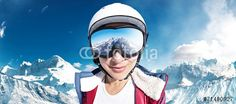 """Laden Sie das lizenzfreie Foto """"Ski Girl"""" von lassedesignen zum günstigen Preis auf Fotolia.com herunter. Stöbern Sie in unserer Bilddatenbank und finden Sie schnell das perfekte Stockfoto für Ihr Marketing-Projekt!"""