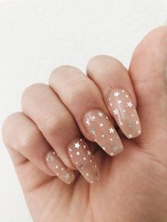 In look for some nail designs and some ideas for your nails? Here's our set of must-try coffin acrylic nails for trendy women. Nails Polish, Aycrlic Nails, Star Nails, Coffin Nails, Rock Nails, Star Nail Art, Cute Gel Nails, Cheetah Nails, Summer Acrylic Nails