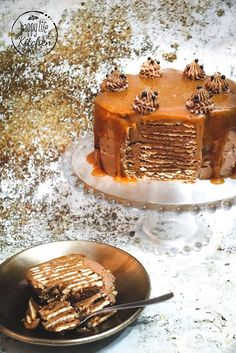 Sweet Like Candy, Cake Decorating Tutorials, Chocolate, Dessert Bars, Mini Cakes, Food Inspiration, Cake Recipes, Food And Drink, Cooking Recipes