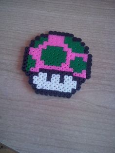 Fungo rosa e verde
