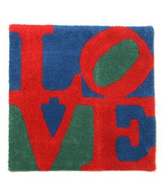 【SECOND LAB.】LOVE RUG - BLUE ラグマット -  (via http://www.hunkydory.jp/?pid=78001214 )