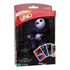 Nightmare Before Christmas UNO Game