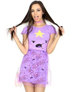 LUMPY SPACE PRINCESS BALLERINA DRESS