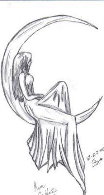 easy pencil drawings of fairies for beginners Easy Pencil Drawings, Cute Drawings, Drawing Faces, Hipster Drawings, Simple Drawings, Girl Drawings, Easy Drawing Pictures, Girl Pencil Drawing, Face Drawing Easy