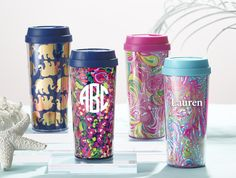 Lilly Pulitzer Thermal Mugs
