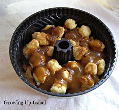Homemade, from scratch, Monkey Bread - Growing Up Gabel